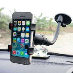 360° Car Windshield Mount Holder Bracket Cradle For iPhone
