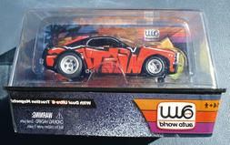 Auto World Carffiti '70 FORD MUSTANG HO Scale Slot Car BLACK