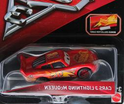 DISNEY PIXAR CARS 3 WITH CARD LIGHTNING MCQUEEN 2017