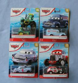 Disney Pixar Cars 51 LOT of 4 Wheeldell Lee Slim Hood Duke C
