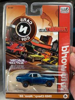 Auto World Cars And Coffee HO Slot Cars - 1969 Chevy Nova SS
