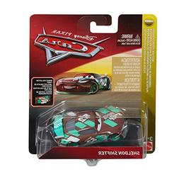 Disney Cars Die Cast Sheldon Shifter with Accessory Card Toy