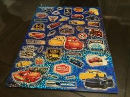 Disney Cars Large Sheet  Assorted Stickers/ New
