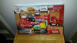 Cars Mack Drivers Disney Pixar Playset Action Truck Red Haul