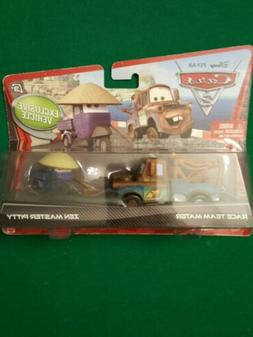 Cars 2 Movie Series 1 Race Team Mater and Exclusive Vehicle