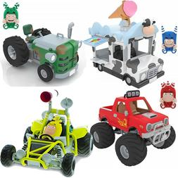 ODDBODS Cars Pogo Fuse Zee Bebbles Playsets Character assort