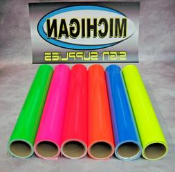 Cast Fluorescent Vinyl-Great for Decals, Race Cars & More!-6