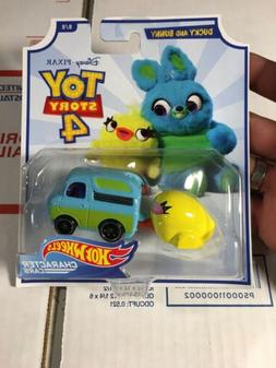 Hot Wheels Character Cars Toy Story 4 Ducky And Bunny 8/8 RE