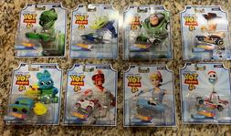 Hot wheels character cars toy story 4 full set 8/8