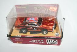 Chrome General Lee Dukes Of Hazzard 2007 HO Scale Electric S