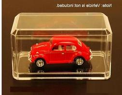 Clear Acrylic Display Case For 1:64 Scale Diecast Model Cars