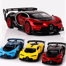 Collections 1:32 Bugatti GT Alloy Diecast Car Model Toy Pull