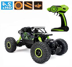 2.4Ghz 1/18 RC Rock Crawler Vehicle Car 4 WD High Speed Remo