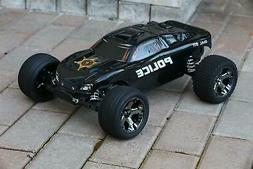 Custom Body Sheriff  Police for Traxxas Rustler VXL 1/10 Tru