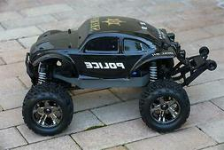 Custom Buggy Body Police Sheriff for Traxxas Stampede 1/10 T