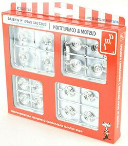 AMT Custom Caps & Wheels Parts Pack For 1:25 Plastic Model C