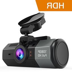 Crosstour Dash Cam 1080P FHD DVR Car Dashboard Camera Video