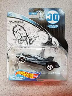Hot Wheels Character Cars DC Sketched Series Superman 2/5