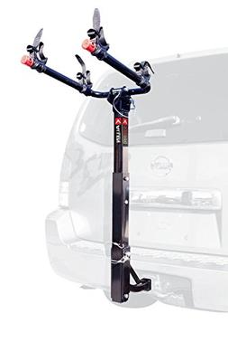 Allen Sports Deluxe 2-Bike Hitch Mount Rack , Silver/Black