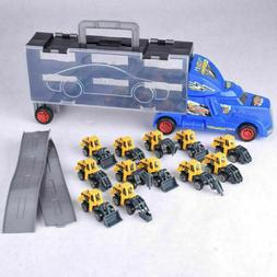 Die-cast Construction Truck Vehicle Car Toy 12 in 1 Pl Trans