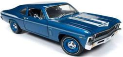 New DIECAST Toys CAR AUTO World 1:18 American Muscle - 1969