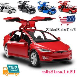 DIECAST TOY 1:32 SCALE ALLOY CARS FOR TESLA MODEL SUV CAR SO