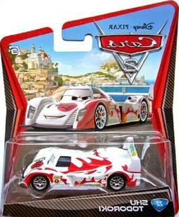 Disney Cars 2 Shu Todoroki Brand New Factory Sealed