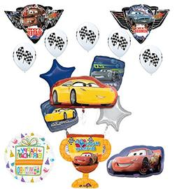 Disney Cars 4th Birthday Party Supplies Champion Trophy and
