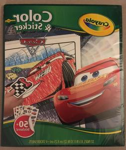 Crayola Disney Cars Color & Sticker Book   Ages 3 and Up