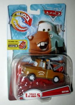 Disney Cars Color Changers *TOW TRUCK MATER* 2 paint jobs in