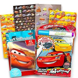 Disney Cars No Mess Coloring Set for Toddlers Kids -- Mess F