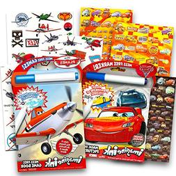 Disney Cars and Planes Coloring and Activity Super Set Kids