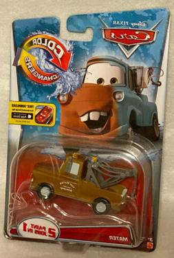 New Disney-Pixar Cars Color Changers Brand New Mater Vehicle
