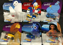 Hot Wheels Disney Character Cars Series 1- 2- 3 - 4 Singles