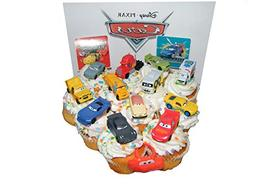 Disney Cars Movie Deluxe Cake Toppers Cupcake Decorations Se