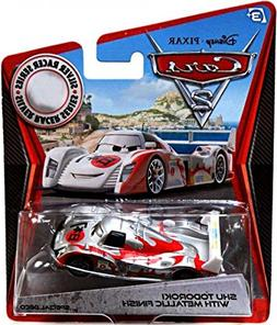 Disney / Pixar CARS 2 Movie Exclusive 155 Die Cast Car SILVE