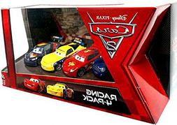 Disney / Pixar CARS 2 Movie Exclusive Die Cast Car Racing 4P