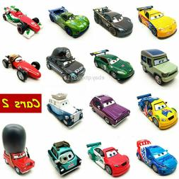 Disney Pixar Cars 2 Racers World Grand Prix Metal 1:55 Dieca