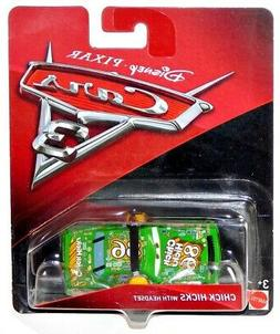 Disney Pixar Cars 3 Chick Hicks With Headset Mattel Diecast