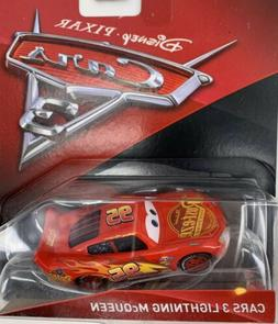 Disney Pixar Mattel Cars 3 Die-Cast Lightning McQueen Toy Ve