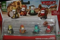 """DISNEY PIXAR CARS """"4 PACK UNCLE TOPOLINO'S BAND"""" NEW IN PACK"""