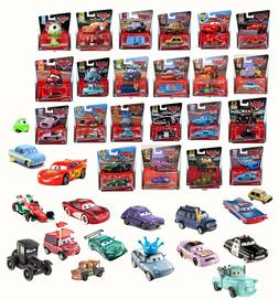 Disney Pixar Cars Character Vehicles Mcqueen Mater Toy Matte