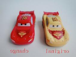 Disney Pixar Cars Color Changers Yellow-Red McQueen Toy Car