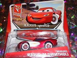 "DISNEY PIXAR CARS ""CRUSIN McQUEEN"" Die-Cast Metal, Scale 1:5"
