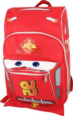 "16"" Disney Pixar Cars Lightning Mcqueen Backpack-tote-bag-sc"