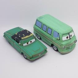Disney Pixar World of Cars 3 Rusty and Dusty Click Clack NEW
