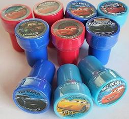 Disney Cars 3 Self-Inking Stamps / Stampers Party Favors