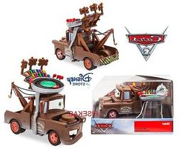 Disney Store Cars 3 Die Cast Collector Case Box Mater Race T