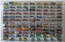 Hot Wheels Display Case Wall Cabinet108 compartment 1/64 sca