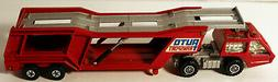 DTE LESNEY MATCHBOX SUPERKINGS SK-10 AUTO TRANSPORT W/CLEAR